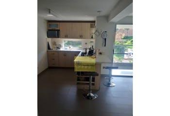 Apartamento en Loma de los Bernal, Con 2 habitaciones-66mt2