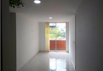 Apartamento en Santa Lucia, La America - 40mt, una alcoba, balcon