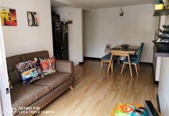 Apartamento en Sabaneta, El Carmelo - 60mt, tres alcobas, balcon