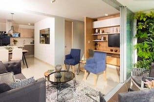 Apartamento en Calasanz, La America - 66mt, tres alcobas, balcon