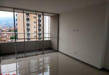 Apartamento en La Cuenca, Envigado - 75mt, tres alcobas, balcon