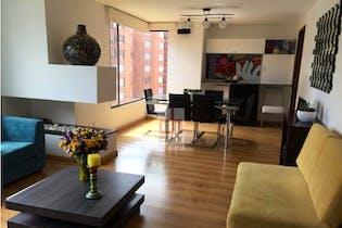 Apartamento Recodo Del Country - 140mt, tres alcobas, chimenea