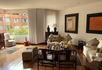 Apartamento en El Nogal, Chico - 375mt, cuatro alcobas, terraza