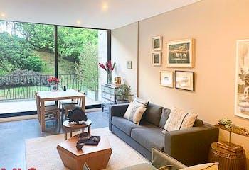 Apartamento en Alto de las Palmas, Envigado - 95mt, una alcoba, terraza