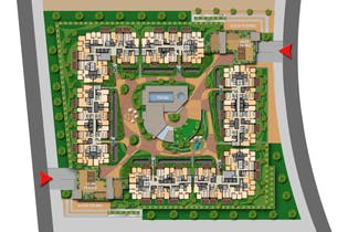 Hacienda el Otoño - Orquidea, Apartamentos en venta en Condominio Los Arrayanes de 2-3 hab.