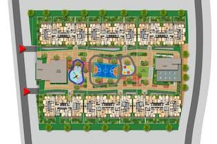 Hacienda el Otoño - Cerezo, Apartamentos en venta en Condominio Los Arrayanes de 2-3 hab.