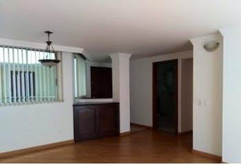 Apartamento en Contador, Cedritos - 83mt, tres alcobas
