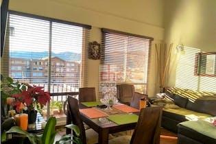 Apartamento en Cajica, Cundinamarca - 74mt, tres alcobas, balcon