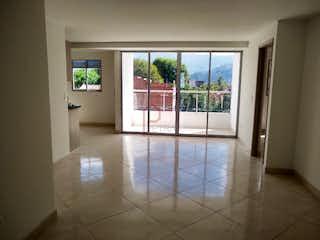 Una vista de una sala de estar y una sala de estar en Apartamento en Rosales-Belén, con 3 Habitaciones - 90 mt2.