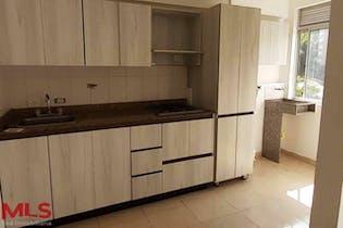 Apartamento en La Cuenca, Envigado - 74mt, tres alcobas, balcon