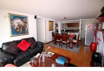 Apartamento en Caobos Salazar, Cedritos - 89mt, tres alcobas, balcon