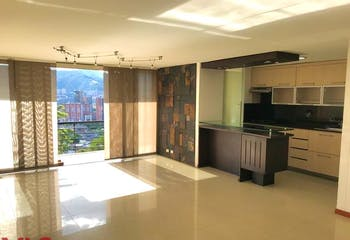 Apartamento en Castropol Poblado - 87mt, dos alcobas, balcon