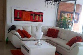 Apartamento en Santa Maria de los Angeles, Poblado - 136mt, tres alcobas, terraza