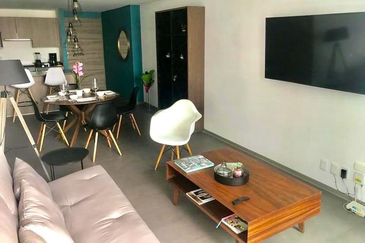 Portada Departamento en venta en col. Granada, 62 m2, amueblado.