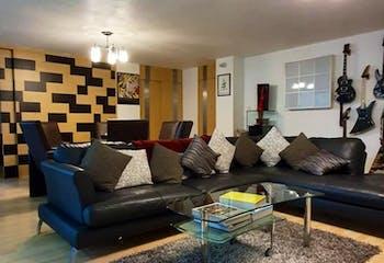 Departamento en venta en Polanco, 170 m2 con estudio.