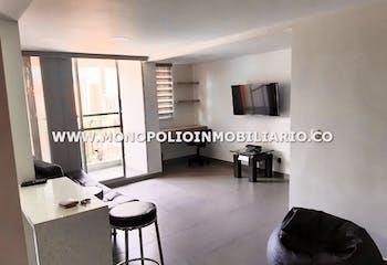 Apartamento en Restrepo Naranjo-Sabaneta, con 2 Habitaciones - 60 mt2.