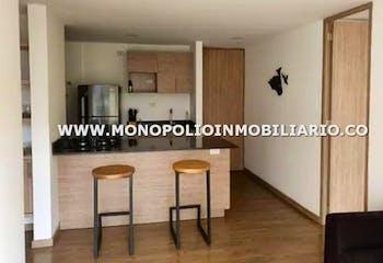 Apartamento en El Trapiche-Sabaneta, con 2 habitaciones - 58 mt2.