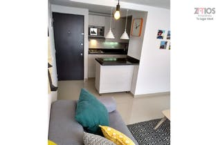 Apartamento en Loma de los Bernal, Bele, - 46mt, dos alcobas, balcon
