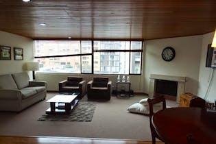 Apartamento en el Virrey, Chicó, 2 Habitaciones- 80m2.