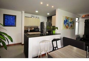 Apartamento en Envigado, Loma de Cumbres, 1 Habitación- 76m2.