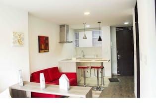 Apartaestudio en la castellana, Barrios Unidos, 1 Habitación- 28,84m2