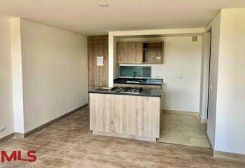 Apartamento en Loa Colegios, Rionegro - 77mt, tres alcobas, balcon