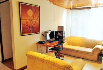 Apartamento en Cedro Golf, Cedritos, 2 Habitaciones- 48m2.