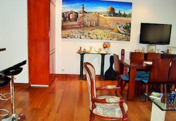 Apartamento en Chicó Reservado, Chicó, 2 Habitaciones- 100,5m2.