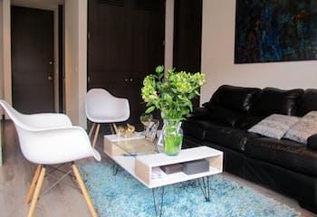 Apartaestudio en Chapinero Alto, Teusaquillo, 1 Habitación- 46,53m2.