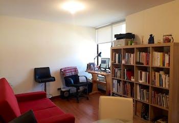 Apartamento en Chapinero Alto, Teusaquillo, 2 Habitaciones- 46,96m2.