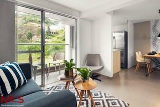 Apartamento en Loma de los Bernal, Belen - 73mt, tres alcobas, balcon