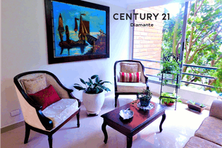Apartamento en Loma del Escobero-Envigado, con 3 Habitaciones - 93 mt2.