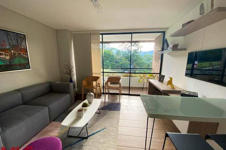 Portada Apartamento en Loma del Escobero, Envigado - 39mt, una alcoba, balcon