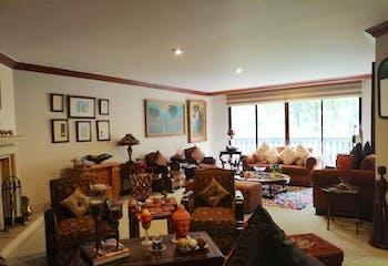 Apartamento en El retiro, Chico - 324mt, cuatro alcobas, chimenea