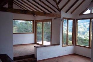 Casa Campestre En Zipaquira Vereda San Jorge Monte Oscuro, 102 mts2-3 Habitaciones