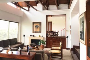 Casa Campestre en La Calera, La Calera - 322mt, tres alcobas, terraza