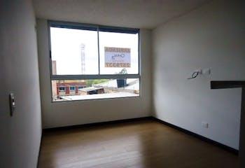 Apartamento en La Campiña, Suba, 2 Habitaciones- 47m2.