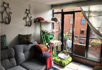 Apartamento en Carlos Lleras, Ciudad Salitre, 3 Habitaciones- 62,6m2.