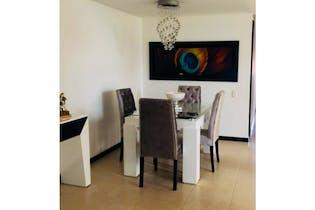 Apartamento en San Diego Medellín, Con 3 habitaciones-85mt2