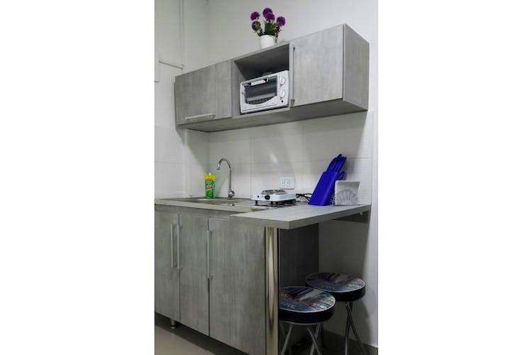 Portada Apartaestudio en  Simón Bolívar Medellín, Con 1 habitación-20mt2