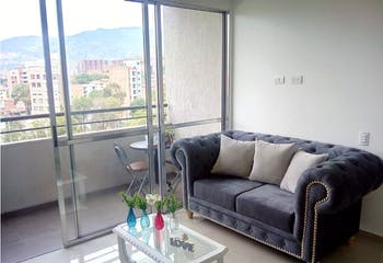Apartamento en San German Medellín, Con 2 habitaciones-53mt2