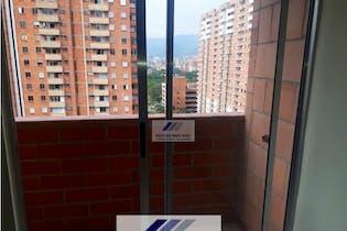 Apartamento en Los Colores-El Estadio, con 3 Alcobas - 57 mt2.