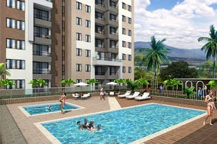 Vivienda nueva, Mazzaro Campestre, Apartamentos nuevos en venta en San José con 2 hab.