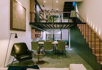 Casa en venta en Roma, de 47.92mtrs2