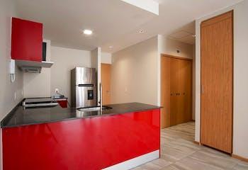 Departamento en venta en Ampliación Granada, 54 m2, con amenidades
