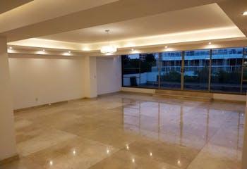 Departamento en venta en Polanco, 340 m2, tres niveles con terraza.