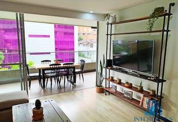 Apartamento en Las Lomas, Poblado, 2 Habitaciones- 95m2.