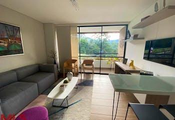 Apartamento en venta en la Loma del Escobero, una Alcoba, Balcón