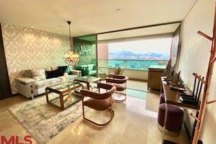 Apartamento en Alejandria, Poblado - 127mt, tres alcobas, balcon