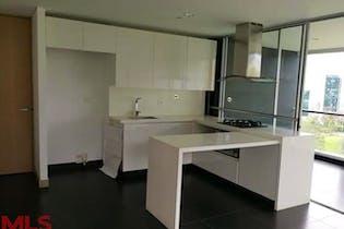 Apartamento en Los Balsos, Poblado - 89mt, dos alcobas, balcon